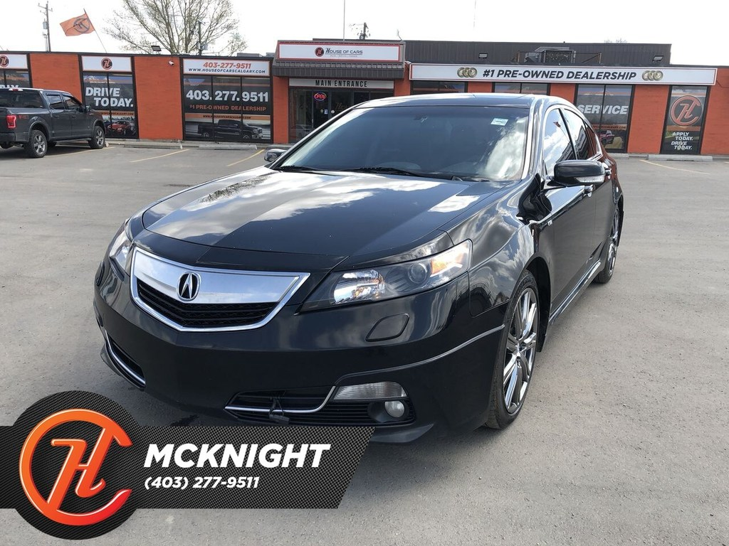 Pre-Owned 2014 Acura TL Leather / Sunroof / Heated seats