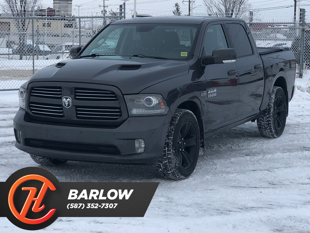 Pre-Owned 2014 Ram 1500 4WD Crew Cab 140.5 Sport / Leather / Sunroof