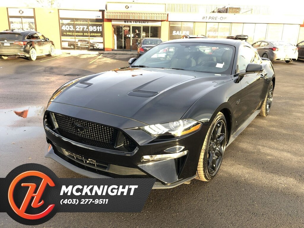 Pre-Owned 2019 Ford Mustang Back up cam