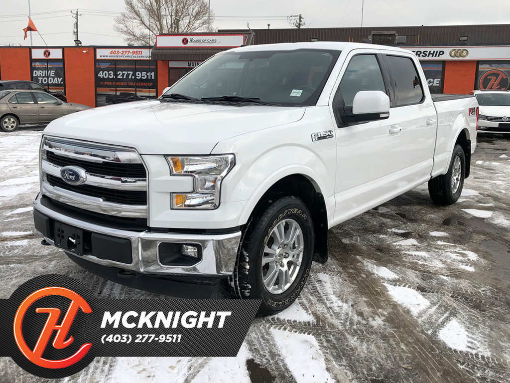Pre-Owned 2017 Ford F-150 XL / Leather / Back up cam / Navi