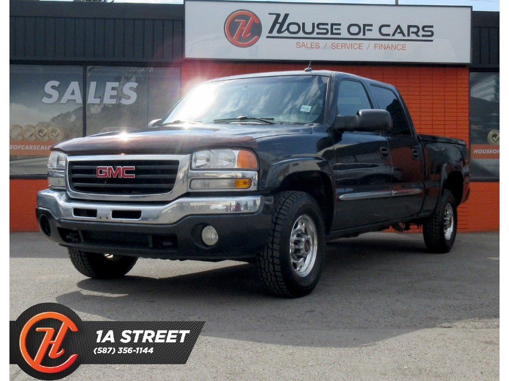 Pre-Owned 2005 GMC SIERRA 1500HD SLT/AUTO SEATS/BOSE/MORE