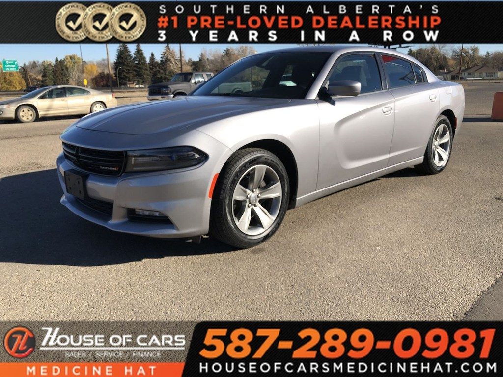 Pre Owned 2017 Dodge Charger Sxt Sedan In Airdrie 1437 Mh House
