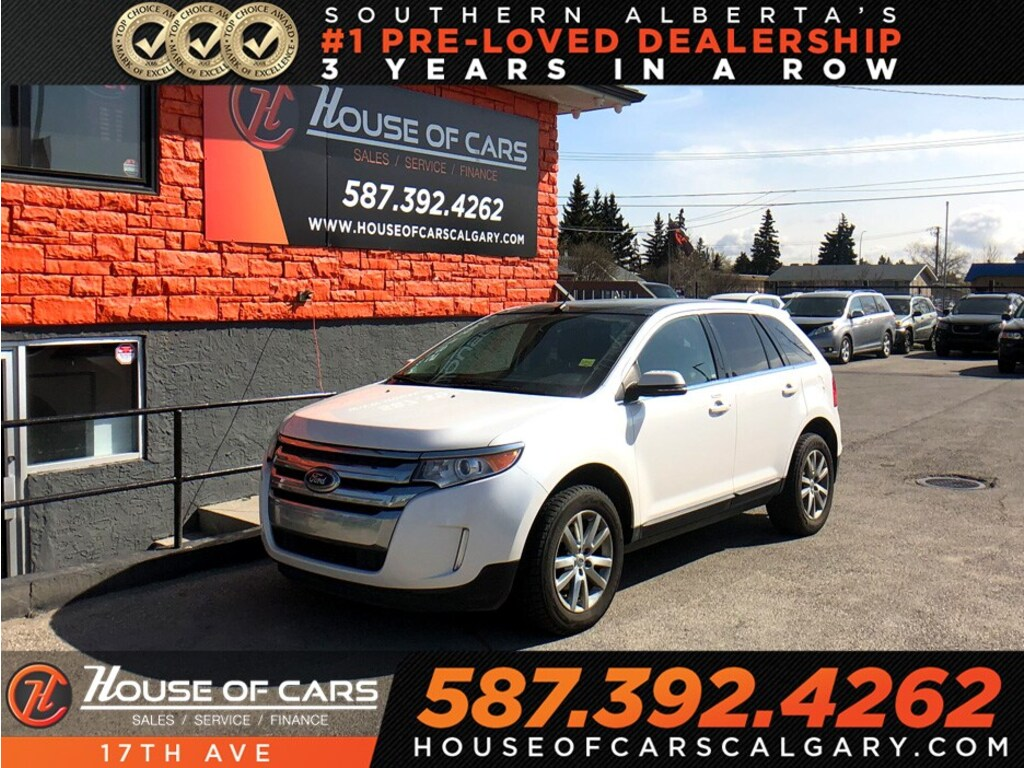Pre-Owned 2014 Ford Edge Limited / Leather / Back up cam / Sunroof