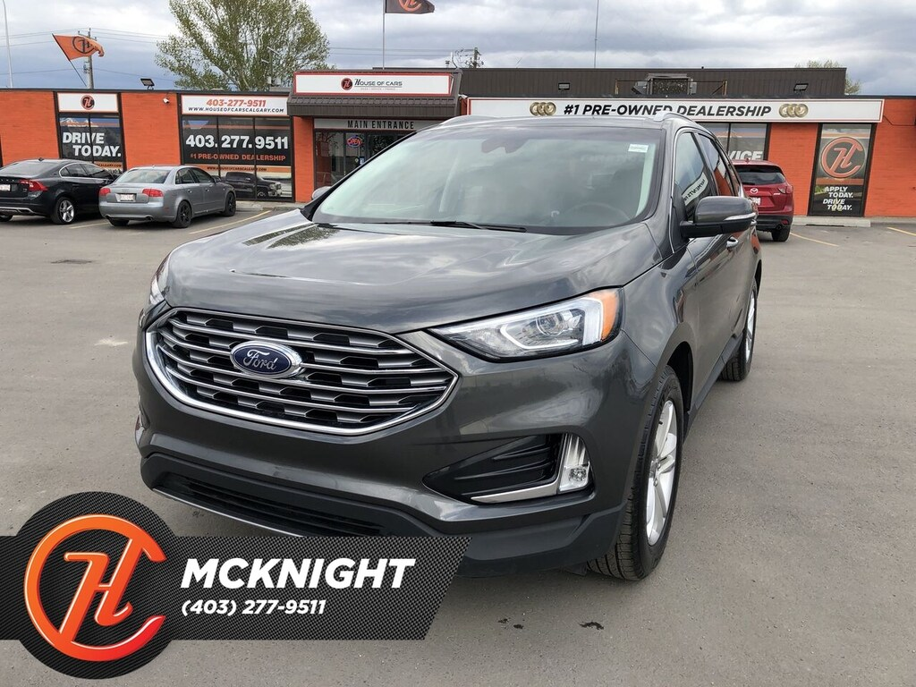 Pre-Owned 2019 Ford Edge SEL / Back Up Cam / Heated seats