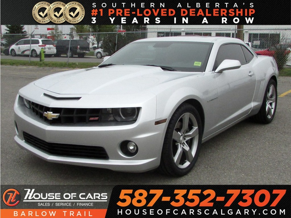 pre owned 2010 chevrolet camaro 2ss sunroof bluetooth sedan in