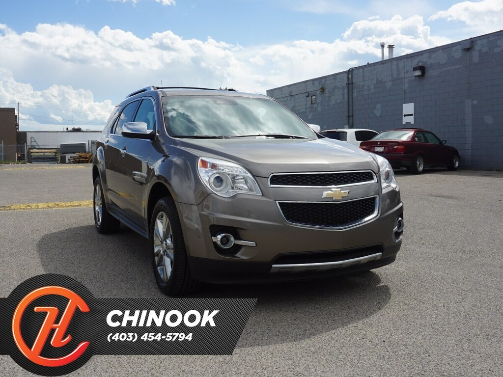 Pre-Owned 2012 Chevrolet Equinox LTZ w/ Heated Seats