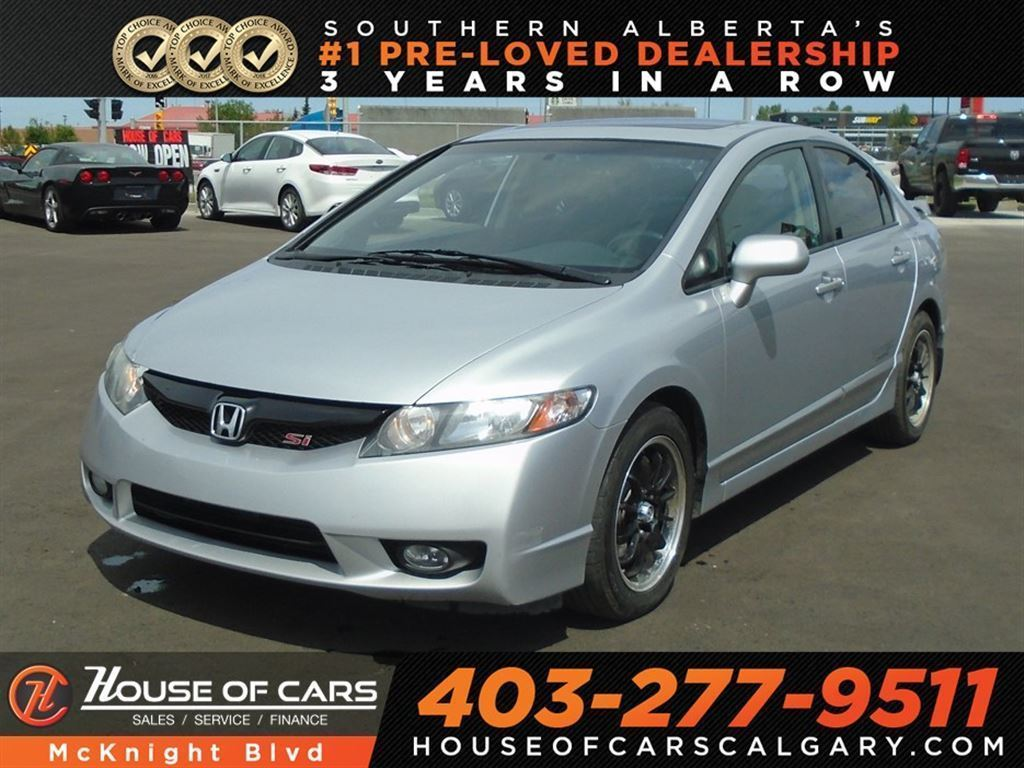Pre-Owned 2010 Honda Civic SI / Six Speed Manual / i-VTEC