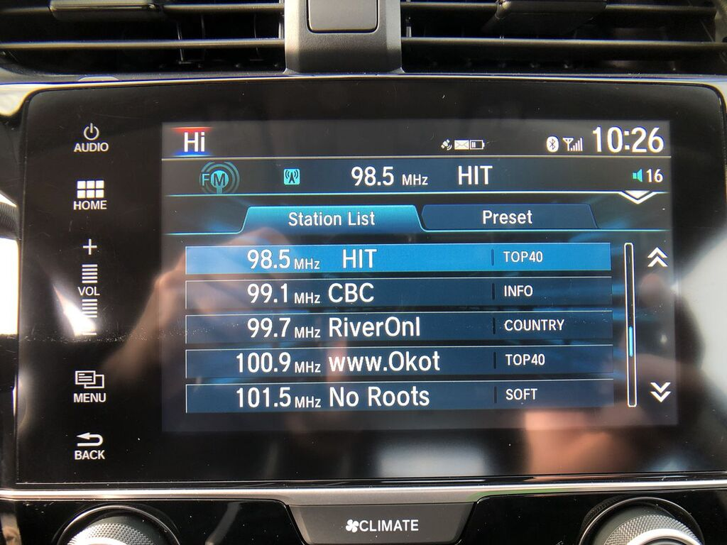 Pre-Owned 2018 Honda Civic LX / Back up Camera / Bluetooth / Heated seats