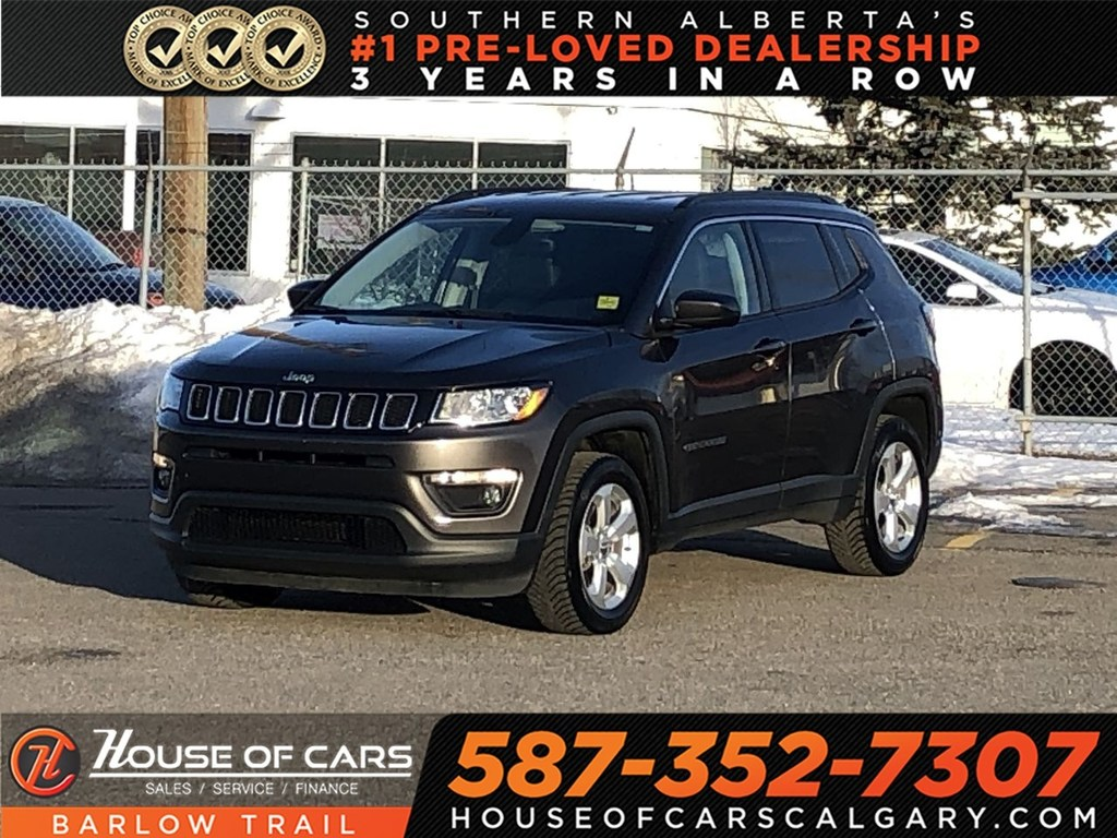 pre-owned 2018 jeep compass north / leather / bluetooth sport