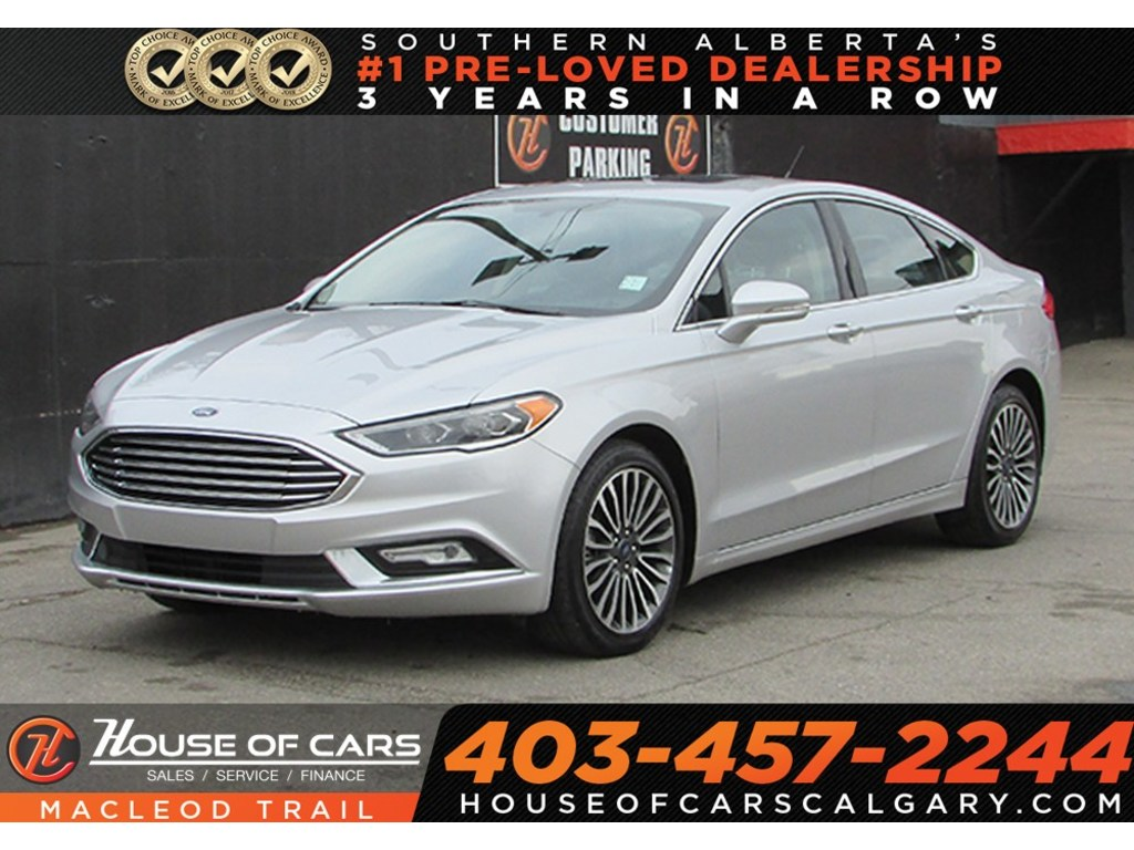 Pre owned 2017 ford fusion se navigationsunroofbackup cameraawd