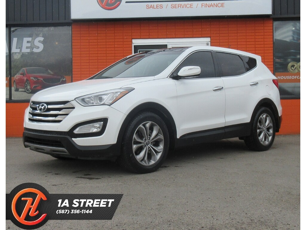 Pre Owned 2013 Hyundai Santa Fe Sport 2 0t Limited Back Cam Heated Seats Awd Moon Roof Awd