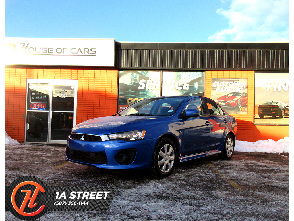 Pre-Owned 2017 Mitsubishi Lancer 4dr Sdn CVT SE LTD FWD
