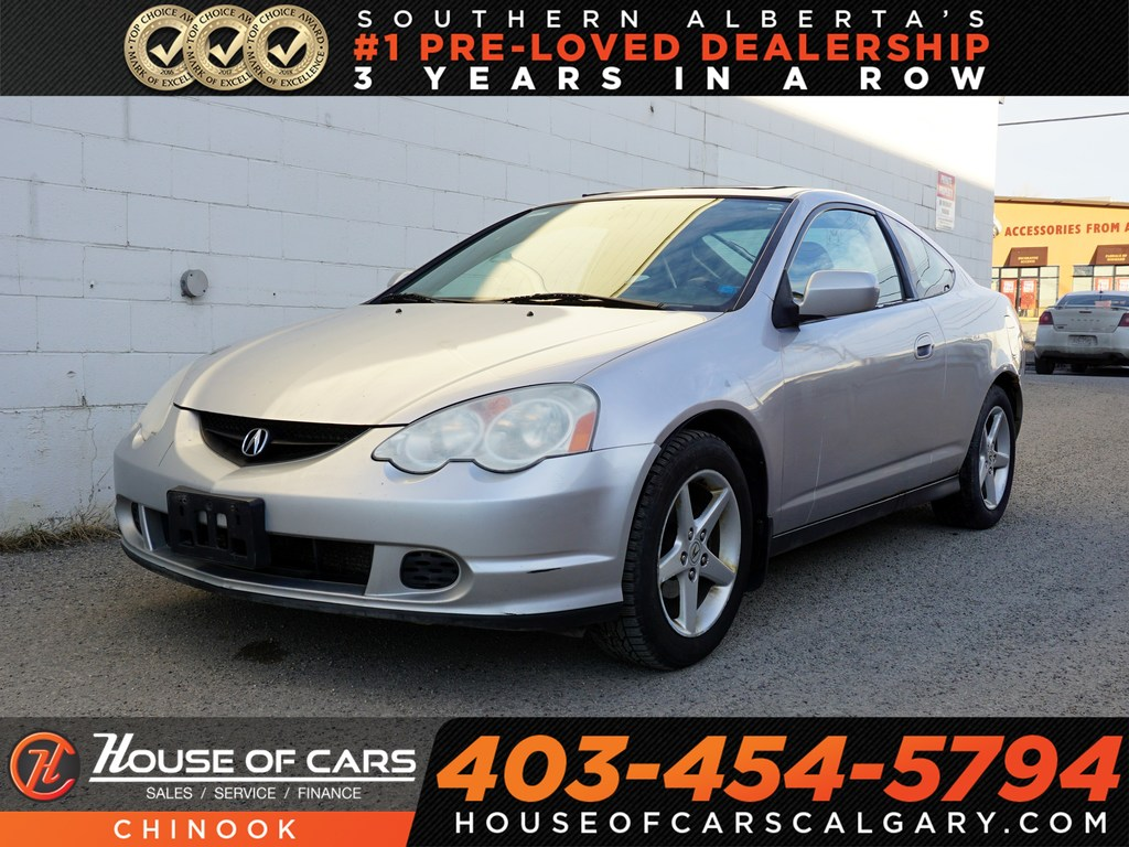 Pre-Owned 2002 Acura RSX Premium w/ Heated Seats,Sunroof,Mechanic Special