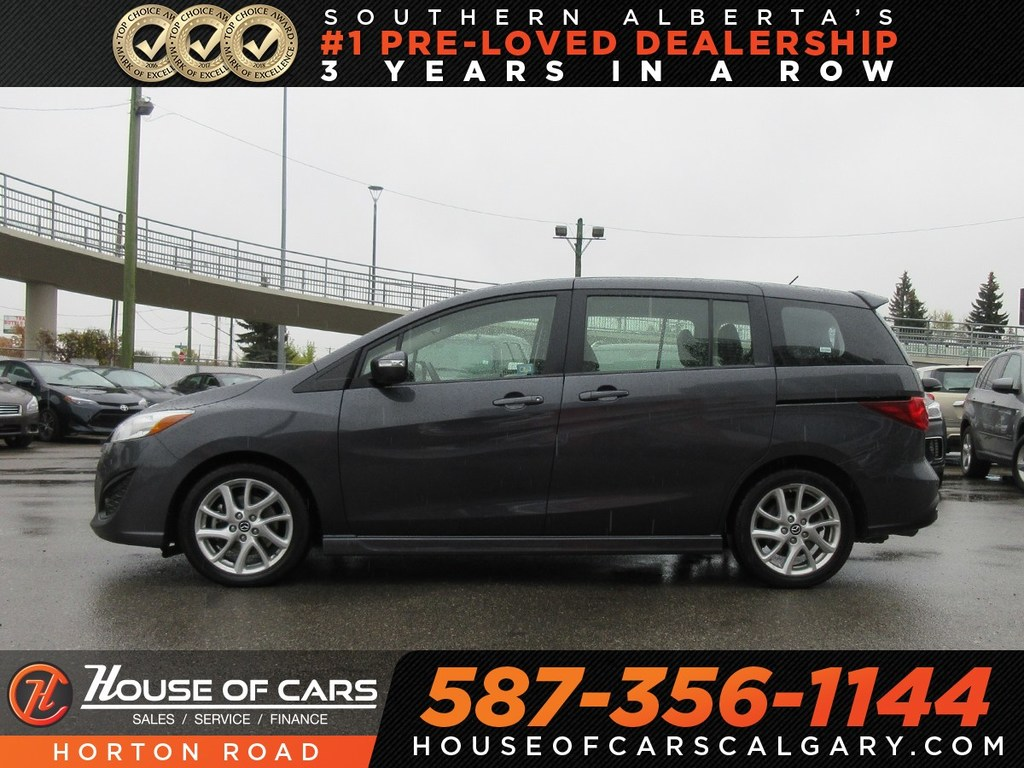 Pre Owned 2017 Mazda5 Gt Bluetooth Heated Seats 6 Seater