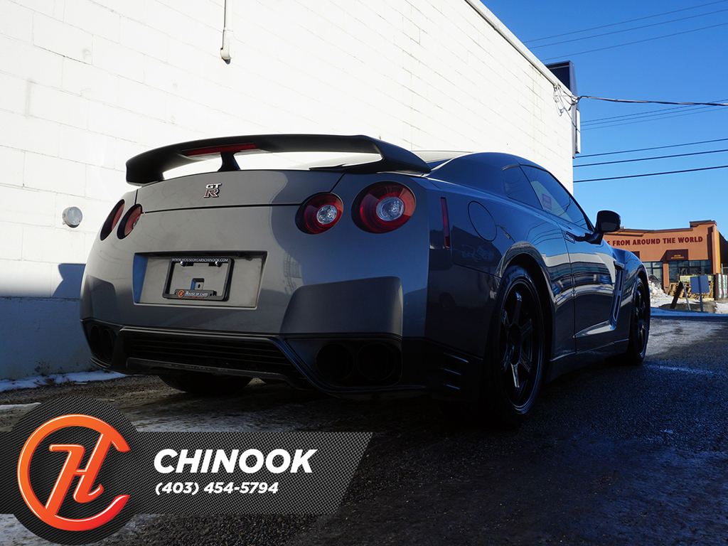 Pre-Owned 2015 Nissan GT-R 2dr Cpe Black Edition