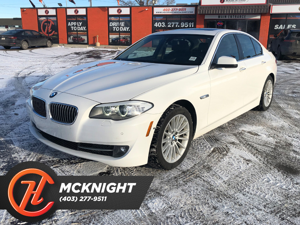 Pre-Owned 2013 BMW 535i xDrive Leather / Sunroof
