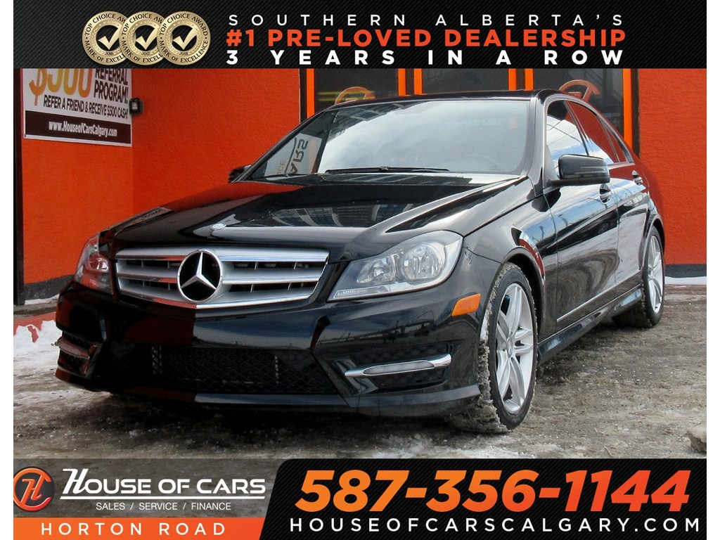 Pre-Owned 2012 Mercedes-Benz C-Class C250 4MATIC/ WOOD INTERIOR/ SUN ROOF/ MORE