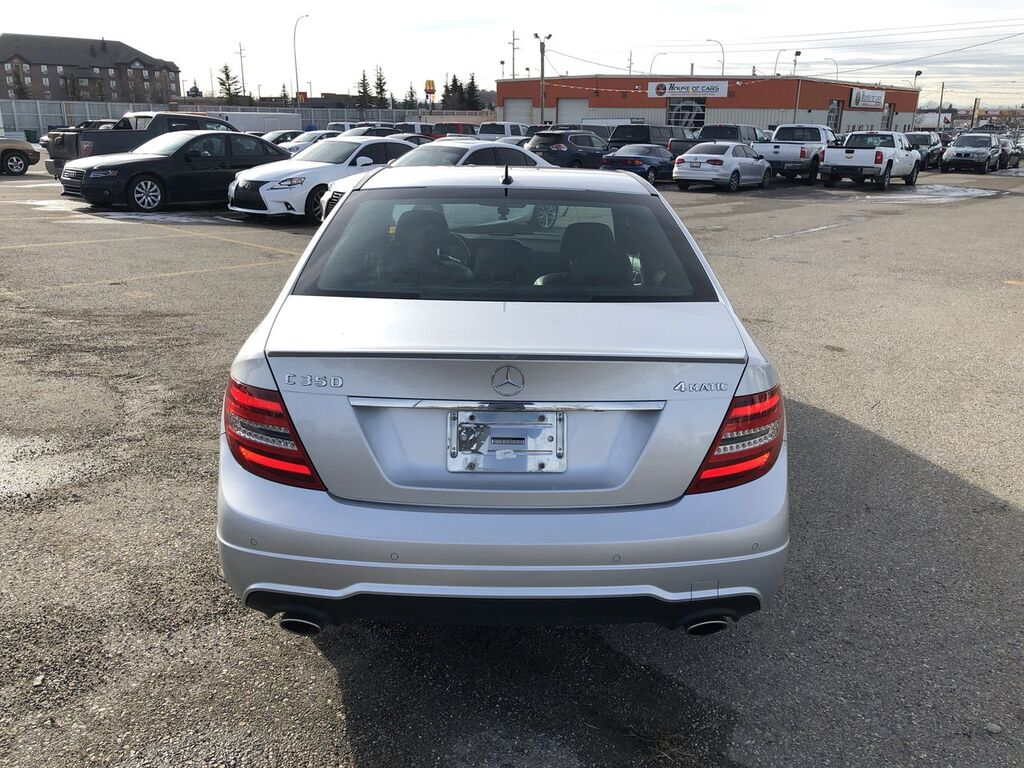 Pre-Owned 2013 Mercedes-Benz C-Class C 350 4MATIC / Leather / Navi
