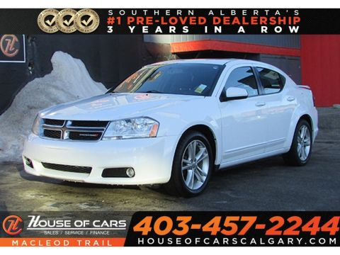 Pre-Owned 2012 Dodge Avenger SXT/ FWD sedan/ Bluetooth