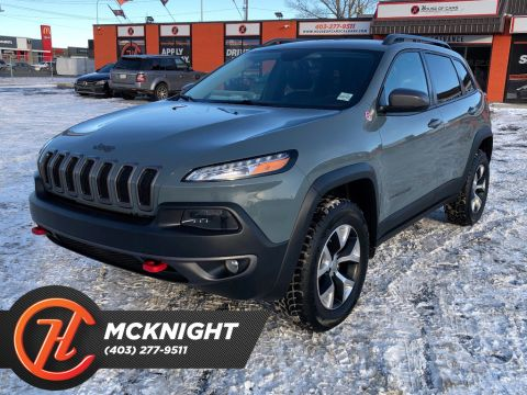 Pre-Owned 2014 Jeep Cherokee 4WD / Leather / Back up cam