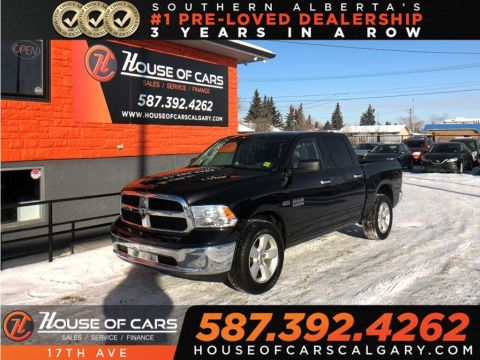 Pre-Owned 2017 Ram 1500 SLT / Bluetooth / Cruise