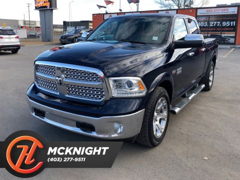 Pre-Owned 2016 Ram 1500 4WD Crew Cab 149 Laramie / Leather / Back up cam