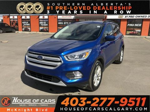 Pre-Owned 2018 Ford Escape SEL / Leather / Sunroof / Back Up Cam