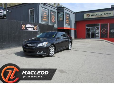 Pre-Owned 2013 Chevrolet Malibu 2LT,Bluetooth,FWD Sedan