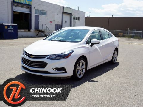 Pre-Owned 2018 Chevrolet Cruze Premier w/ Leather APPLY TODAY DRIVE TODAY !!!