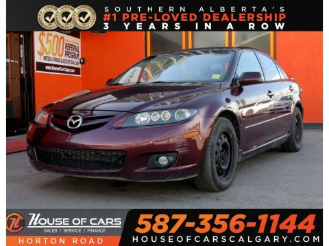 Pre-Owned 2006 Mazda6 GS-V6/BOZE/SUNROOF/MORE