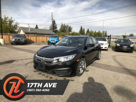 Pre-Owned 2018 Honda Civic LX / Bacck up cam / Heated seats / Navi
