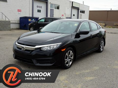 Pre-Owned 2018 Honda Civic LX w/ Heated Seats Backup Cam Bluetooth