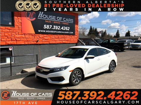 Pre-Owned 2018 Honda Civic SE / Back up cam / Heated seats