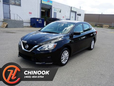 Pre-Owned 2019 Nissan Sentra SV w/ Bluetooth,Backup Cam,Heated Seats