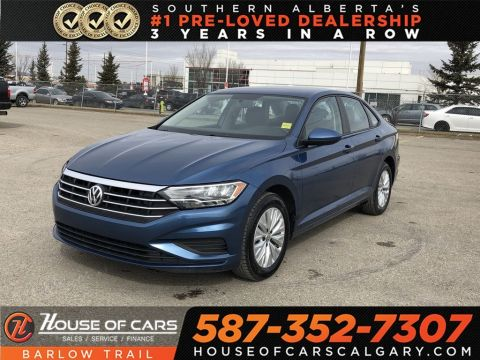 Pre-Owned 2019 Volkswagen Jetta TSI Comfortline / Back Up Camera / BLuetooth
