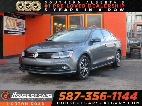 Pre-Owned 2016 Volkswagen Jetta 1.4 TSI Comfortline/ Touch Screen/ Low KMs