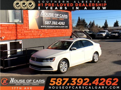Pre-Owned 2017 Volkswagen Jetta Wolfsburg Edition / Heated seats / 2 Sets of tires