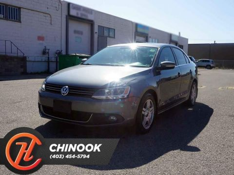 Pre-Owned 2013 Volkswagen Jetta TDI Comfortline w/ Heated Seats,Sunroof