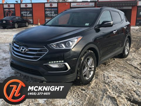 Pre-Owned 2018 Hyundai Santa Fe Sport Leather / Sunroof / Back up cam