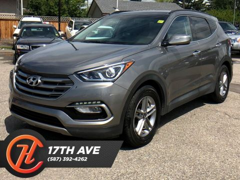 Pre-Owned 2018 Hyundai Santa Fe Sport 2.4 Sport / Leather / Moon roof / Navi