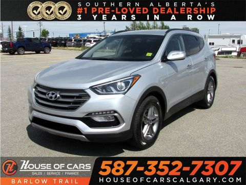 Pre-Owned 2017 Hyundai Santa Fe Sport 2.4 SE / Heated leather Seats / Back up camera