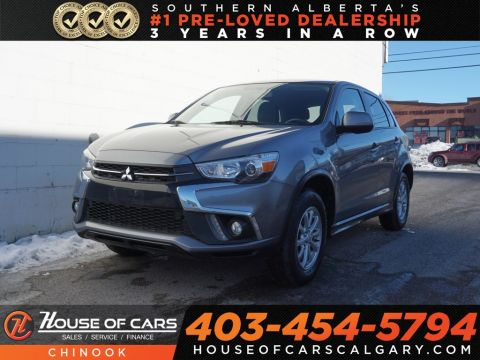 Pre-Owned 2018 Mitsubishi RVR SE w/ Heated Seats,Bluetooth,Backup Camera