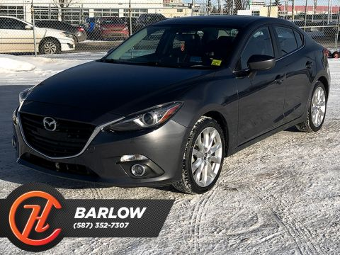 Pre-Owned 2015 Mazda3 4dr Sdn Auto GT / Leather / Navi