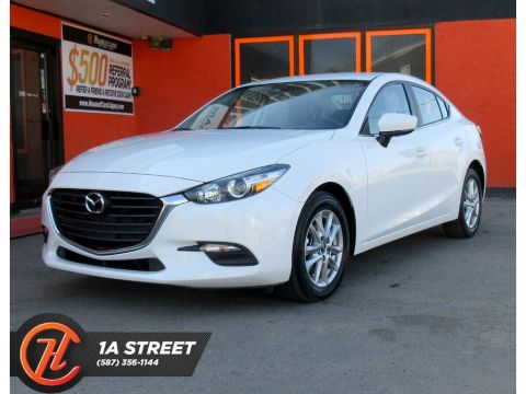 Pre-Owned 2018 Mazda3 GS/HEATED SEATS AND STEERING/BACKUP CAM/MORE