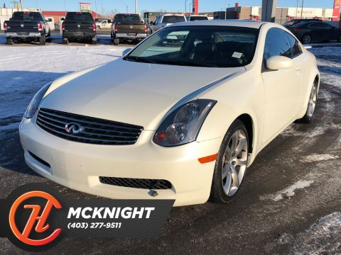 Pre-Owned 2003 INFINITI G35 Leather / Sunroof / Heated seats