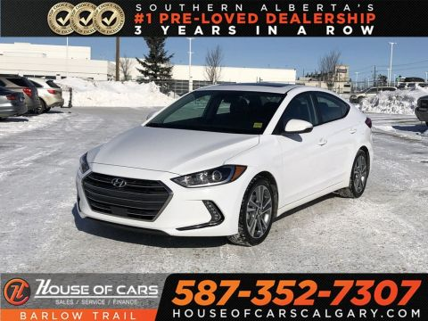 Pre-Owned 2018 Hyundai Elantra GLS / Heated Leather Seats / Back up camera