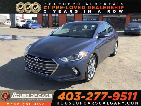 Pre-Owned 2018 Hyundai Elantra GLS / Leather / Sunroof / Back Up Cam