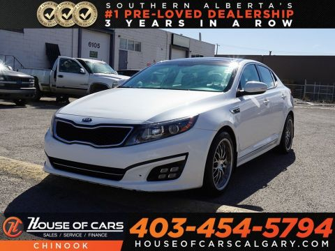 Pre-Owned 2014 Kia Optima SX Turbo w/ Heated Seats,Bluetooth,Backup Camera