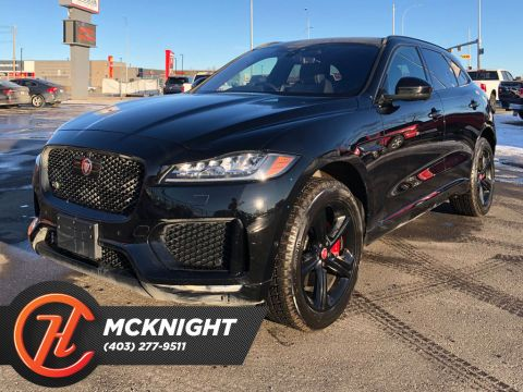 Pre-Owned 2019 Jaguar F-Pace S AWD / Leather / Sunroof / Back up cam