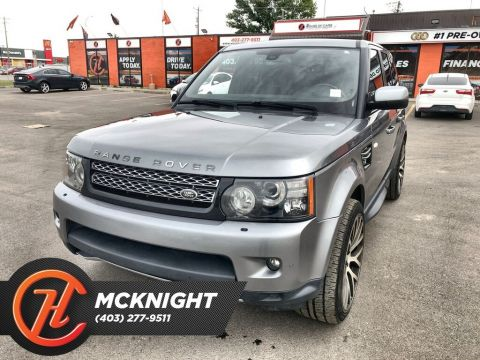 Pre-Owned 2013 Land Rover Range Rover Sport Supercharged / Leather / Roof / Navi / Cam